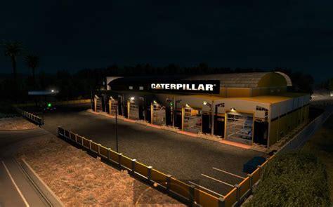 Large Garage Caterpillar Ats 1 4 X Modhub Us | large garage caterpillar ats 1 4 x modhub us