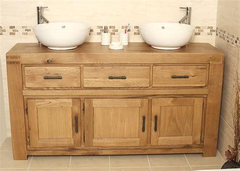 bathroom oak vanity units 50 off oak double vanity unit bathroom milan