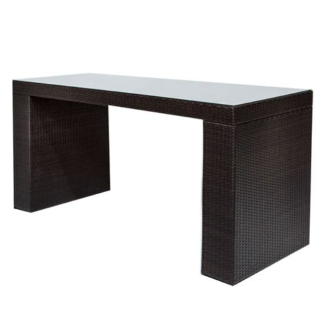 6 bar table 7 outdoor bar set wicker bar table design