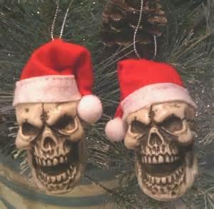 skeleton skull christmas skulls