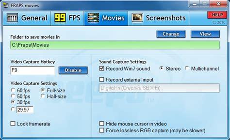 fraps old version full download free software fraps 3 5 0 latest version free