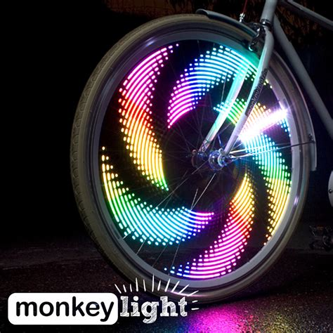 Bicycle Wheel Lights by Monkeylectric M232 Monkey Light Color Led W 42
