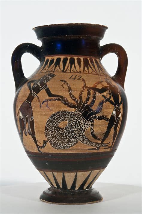vasi greci a figure nere sala dei vasi greci ed etruschi civico museo di storia