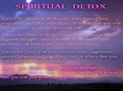 What Is A Spiritual Detox by Spiritual Detox No More Laundry Spiritual House