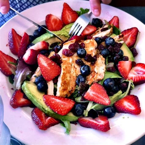 berry dinner berry and avocado chicken salad 6 ways to enjoy the