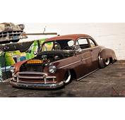 NO RSERVE 52 CHEVY BUSINESS COUPE PATIA RAT ROD BAGGED
