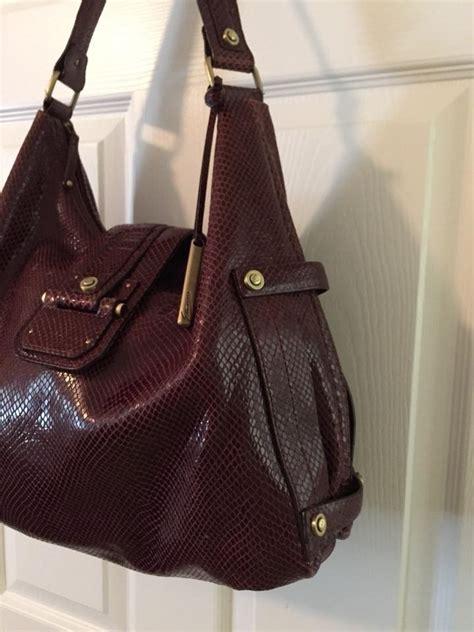 Tas Aigner Original Aigner Bag Maroon Maron etienne aigner etienne collection privee shoulder bag on sale 61 shoulder bags on sale