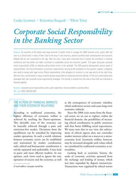 Social Responsibility In Business Boston Mba by Corporate Social Responsibility In The Pdf