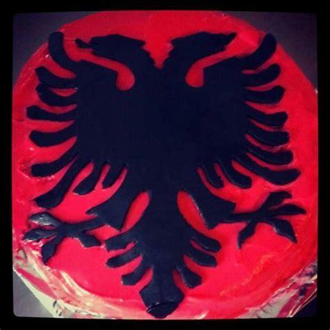 Xhaka Adler Albania Adler Kuq E Zi Selfmade Torte Albania Birthday
