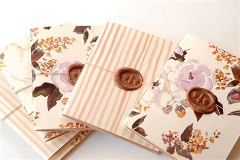 Handmade Notebook Tutorial - diy tutorial handmade patterned notebooks