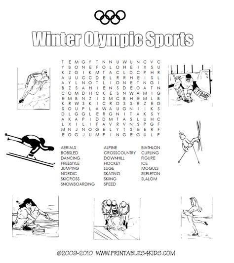 12 best winter puzzles images wordseaches for new calendar template site