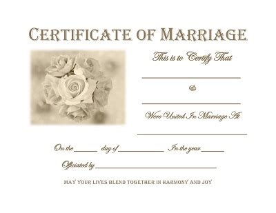 keepsake marriage certificate template free graphics and printables trulytruly net