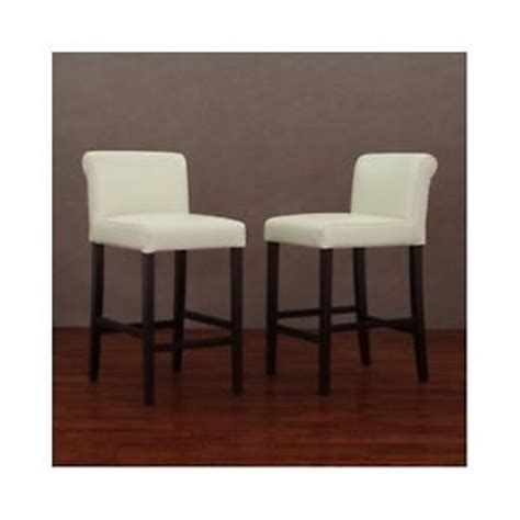 leather bar stools high end counter height chairs