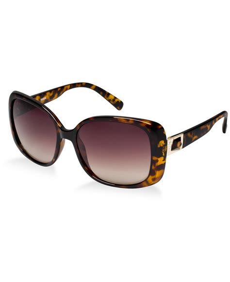 guess fashion 02 gold brown 19053 lyst guess gu 7314 in brown