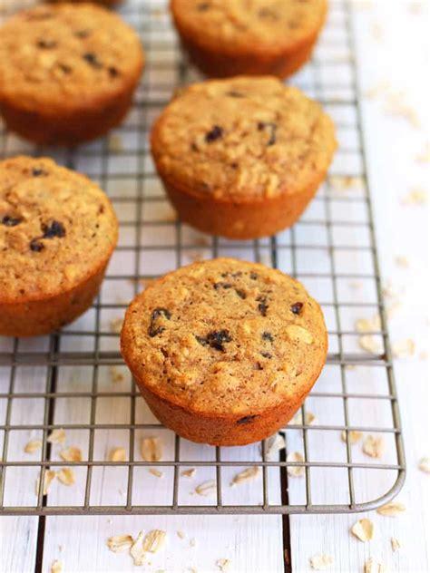 Toaster Oven Muffins toaster oven oatmeal raisin muffins