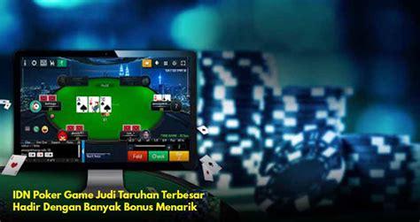 idn poker situs judi slot  judi  terpercaya indonesia