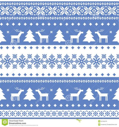 christmas knit wallpaper nordic seamless christmas knitted background stock vector