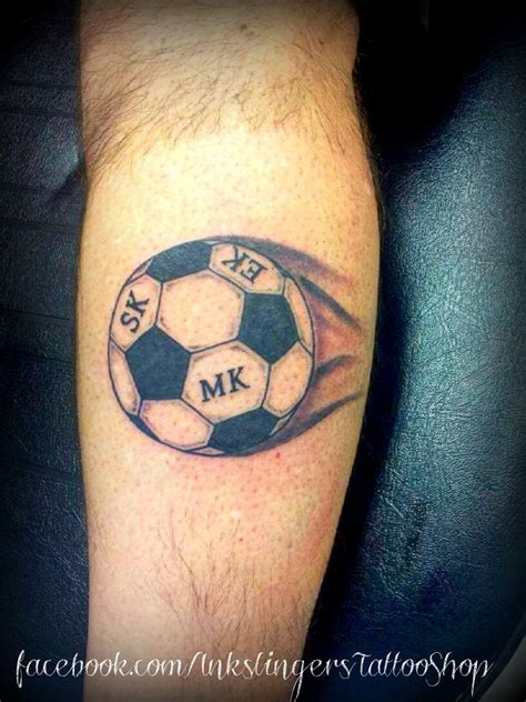 small soccer tattoos 43 best futbolistu images on soccer