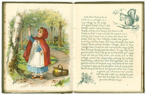 red riding hood manuscripts  special collections