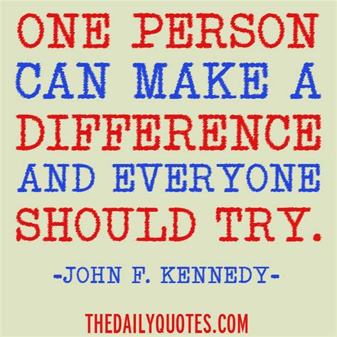 Fast How I Can Make A Difference Quotes