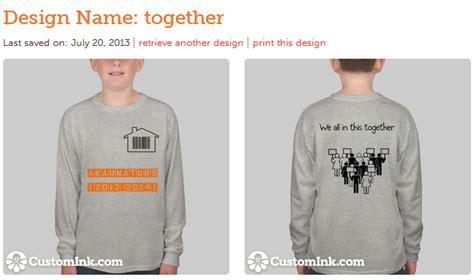 design baju kelas akaun enthusiastic rekaan baju kelas kami
