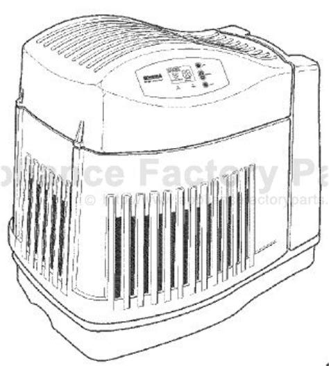 kenmore quiet comfort 7 humidifier filter parts for 758 144115 kenmore humidifiers