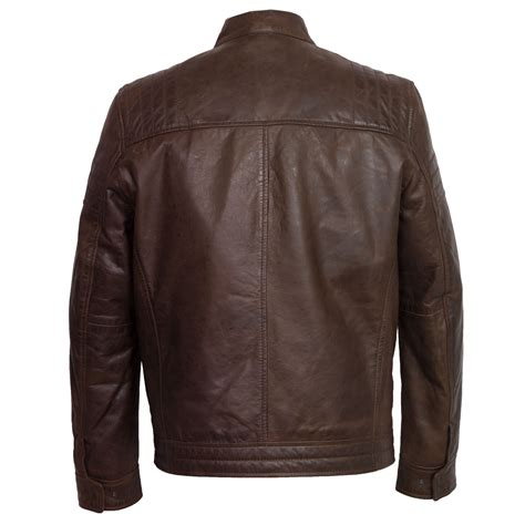 mens leather jacket budd s brown leather jacket hidepark leather