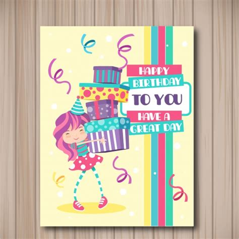 birthday gift card design template 30 birthday gift card templates free word design ideas