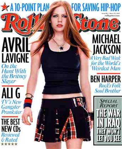 Avril Lavigne Does Day Magazine by Rolling Magazine News Links Politics Kismet