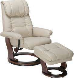 Recliner Chair Dixon Taupe Reclining Chair Ottoman The Brick
