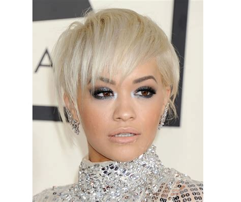 rita oras new short haircut from the 2015 grammy awards lipstick 2015 grammys rita ora short hair rita ora debuts a cool