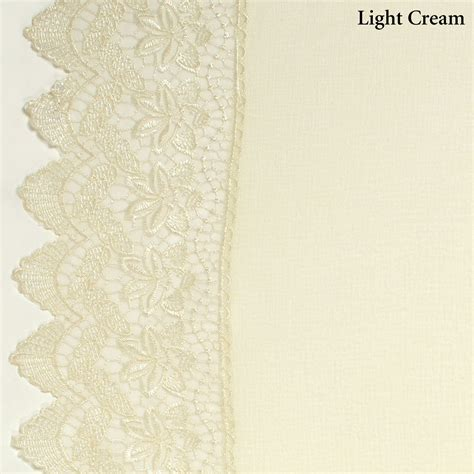 lace sheers curtains deville semi sheer lace window treatment