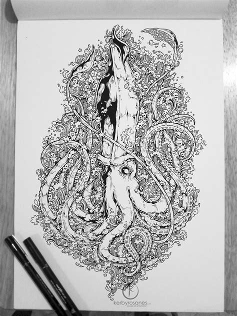 kerby rosanes sketchbook the doodle animal kingdom scene360