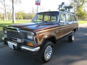 1984 Jeep Grand Wagoneer Specs 1984 Jeep Grand Wagoneer Limited 4x4 108k Mil Clean