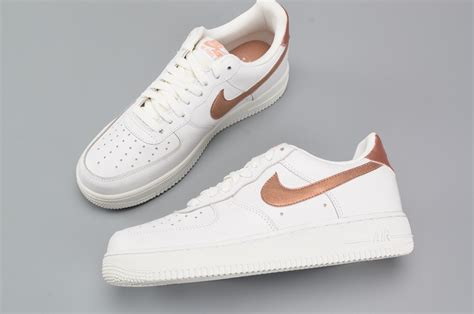 Sepatu Nike Airforce One For White Casual nike air 1 low casual summit white metallic bronze trainers for sale