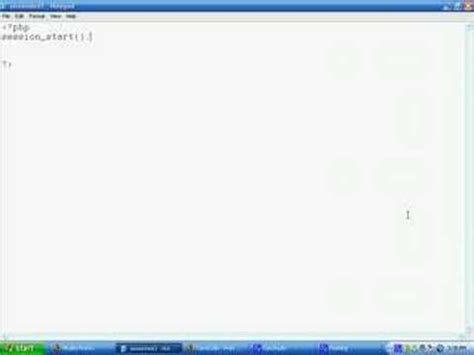 tutorial php session php sessions tutorial youtube