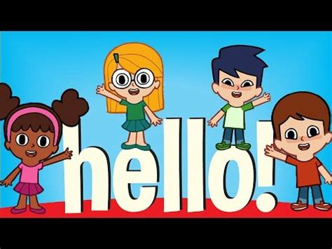 imagenes hola bb hello hello can you clap your hands original kids song