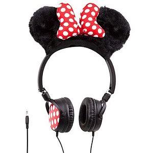 disney headphones minnie mouse plush