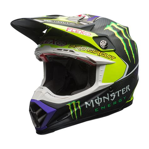 bell motocross helmet bell moto 9 carbon flex 2017 pro circuit replica ltd