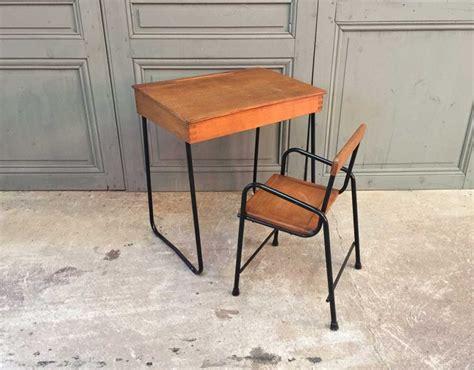 bureau enfant vintage ensemble bureau et chaise enfant vintage
