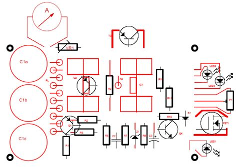 layout guidelines for power supply 13 8v 20a power supply electronics lab