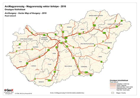 hungary map vector vector map of hungary geox