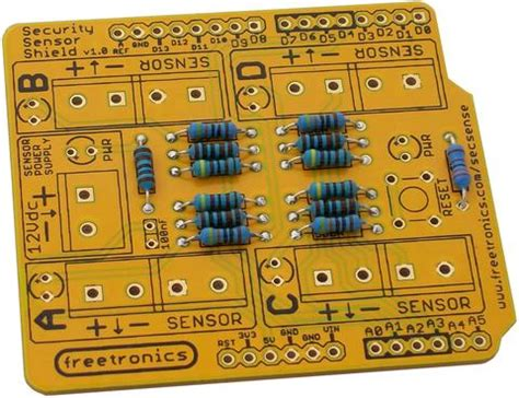 does resistor direction matter security sensor shield assembly freetronics