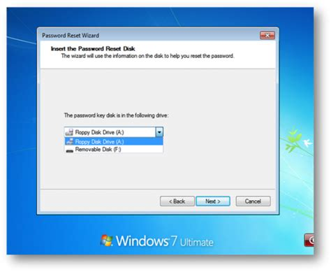 reset windows vista password with reset disk windows 7 password reset freeware usb