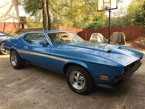 ford mustang mach 1 price 1972 mustang mach 1 low price for sale ford mustang