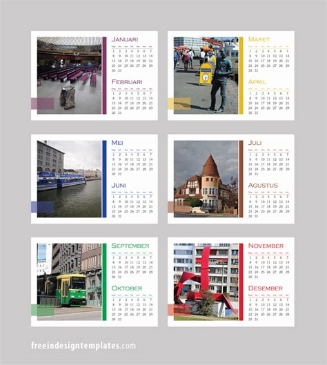 calendar template for indesign free indesign desk calendar template free indesign