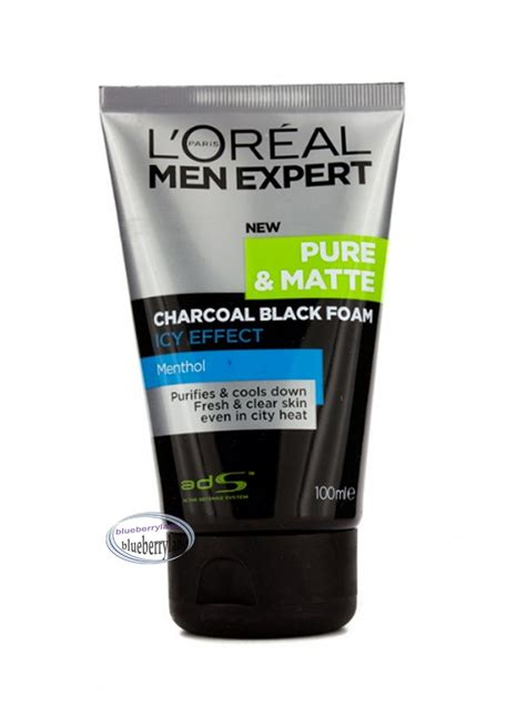 Loreal M E Charcoal Black 100ml l oreal expert matte icy effect charcoal black