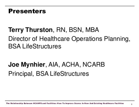 Mba Healthcare Management With Bsn by The Relationship Between Hcahps And Facilities How To
