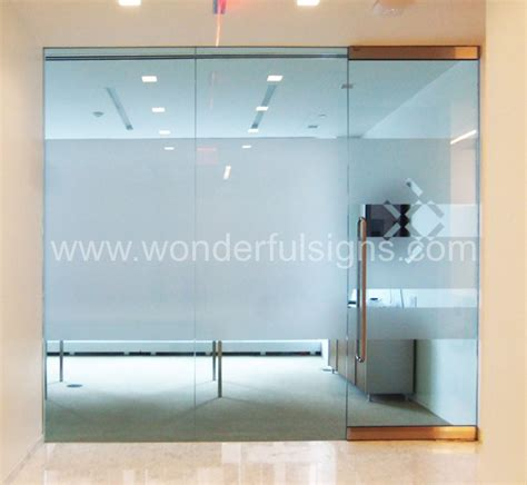 Office Signs For Glass Doors Frosted Decals Ny Sign Company Ada Signs Dimensional Letters Logos Backlit Letters
