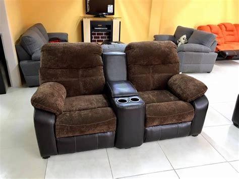 sillon reclinable sill 243 n reclinable doble medellin con porta vasos